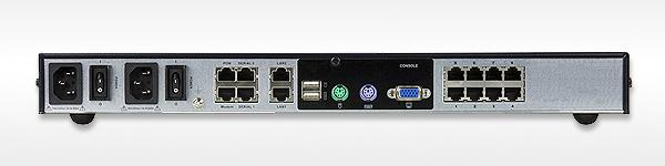 IP KVM-переключатель ATEN KN1108v вид сзади