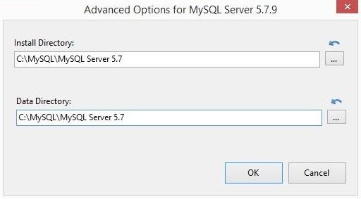 установка MySQL шаг 3
